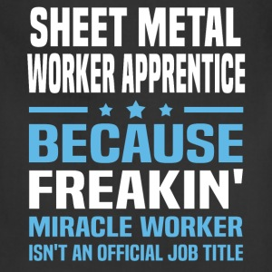 Sheet Metal Worker Apprentice T-Shirts - Adjustable Apron