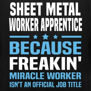 Sheet Metal Worker Apprentice T-Shirts - Men's Premium Tank