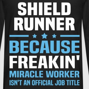 Shield Runner T-Shirts - Men's Premium Long Sleeve T-Shirt