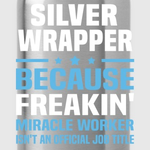 Silver Wrapper T-Shirts - Water Bottle