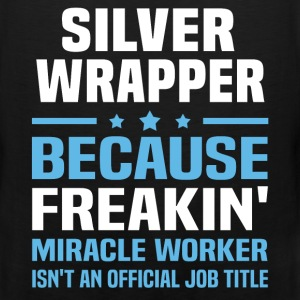 Silver Wrapper T-Shirts - Men's Premium Tank
