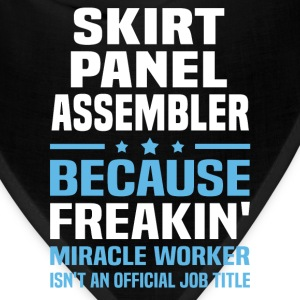 Skirt Panel Assembler T-Shirts - Bandana