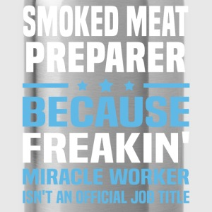Smoked Meat Preparer T-Shirts - Water Bottle