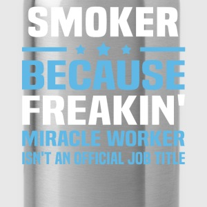 Smoker T-Shirts - Water Bottle