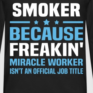Smoker T-Shirts - Men's Premium Long Sleeve T-Shirt