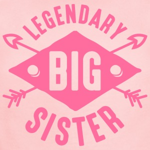 Legendary Big Sister Kids' Shirts - Short Sleeve Baby Bodysuit