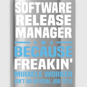 Software Release Manager T-Shirts - Water Bottle