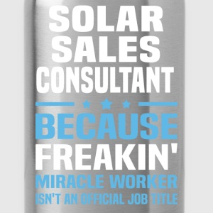 Solar Sales Consultant T-Shirts - Water Bottle