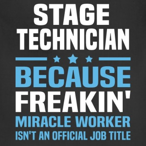 Stage Technician T-Shirts - Adjustable Apron