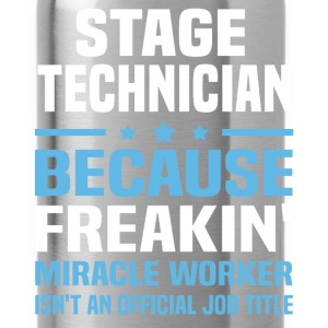 Stage Technician T-Shirts - Water Bottle