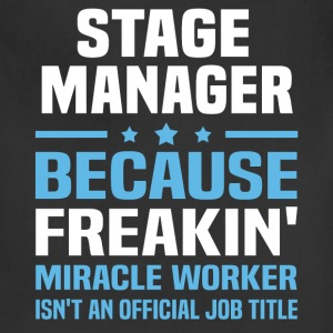 Stage Manager T-Shirts - Adjustable Apron