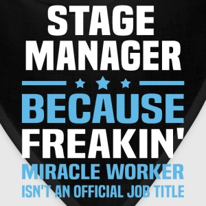 Stage Manager T-Shirts - Bandana