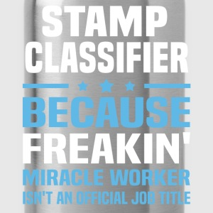 Stamp Classifier T-Shirts - Water Bottle