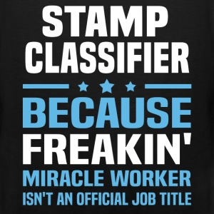 Stamp Classifier T-Shirts - Men's Premium Tank