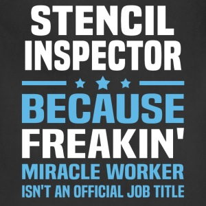Stencil Inspector T-Shirts - Adjustable Apron