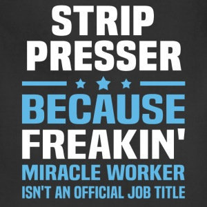 Strip Presser T-Shirts - Adjustable Apron