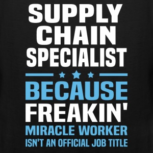 Supply Chain Specialist T-Shirts - Men's Premium Tank
