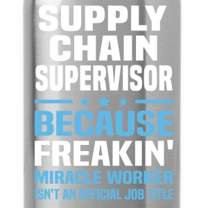 Supply Chain Supervisor T-Shirts - Water Bottle