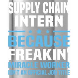 Supply Chain Intern T-Shirts - Water Bottle