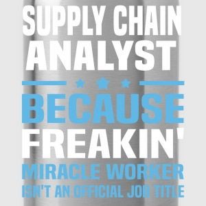 Supply Chain Analyst T-Shirts - Water Bottle