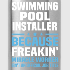 Swimming Pool Installer T-Shirts - Water Bottle