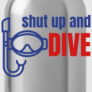 Diving Polo Shirts - Water Bottle
