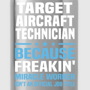 Target Aircraft Technician T-Shirts - Water Bottle