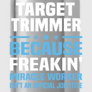 Target Trimmer T-Shirts - Water Bottle
