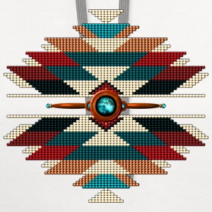 Southwest Native American Sunburst - Contrast Hoodie