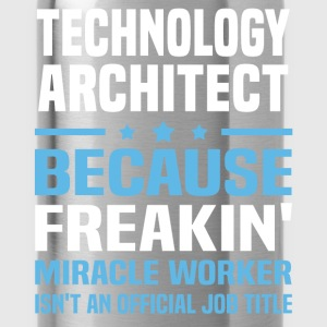 Technology Architect T-Shirts - Water Bottle