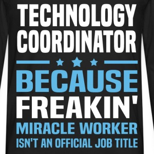 Technology Coordinator T-Shirts - Men's Premium Long Sleeve T-Shirt