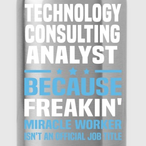 Technology Consulting Analyst T-Shirts - Water Bottle