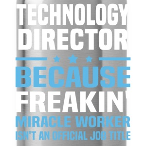 Technology Director T-Shirts - Water Bottle