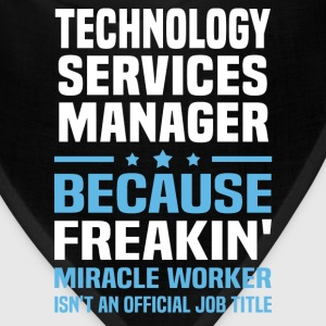Technology Services Manager T-Shirts - Bandana