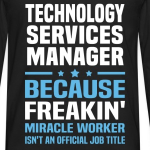 Technology Services Manager T-Shirts - Men's Premium Long Sleeve T-Shirt