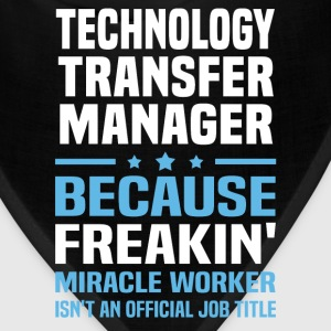 Technology Transfer Manager T-Shirts - Bandana