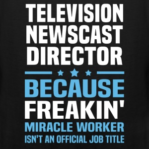 Television Newscast Director T-Shirts - Men's Premium Tank