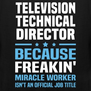 Television Technical Director T-Shirts - Men's Premium Tank