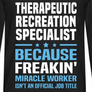 Therapeutic Recreation Specialist T-Shirts - Men's Premium Long Sleeve T-Shirt