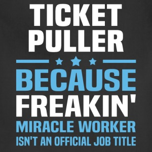 Ticket Puller T-Shirts - Adjustable Apron