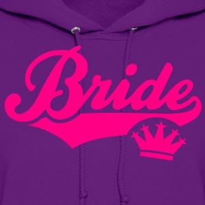 Bride Crown T-Shirt WF - Women's Hoodie