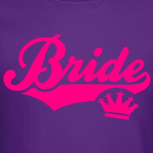 Bride Crown T-Shirt WF - Crewneck Sweatshirt