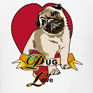 Pug Love - Men's T-Shirt