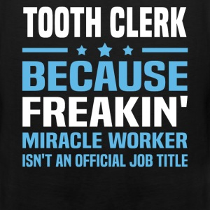 Tooth Clerk T-Shirts - Men's Premium Tank