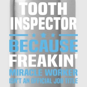 Tooth Inspector T-Shirts - Water Bottle