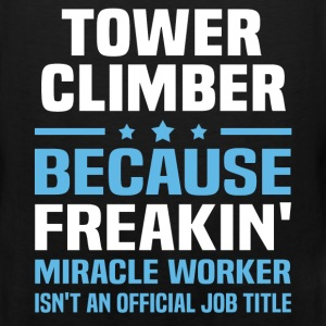 Tower Climber T-Shirts - Men's Premium Tank