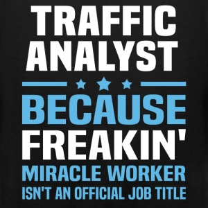 Traffic Analyst T-Shirts - Men's Premium Tank