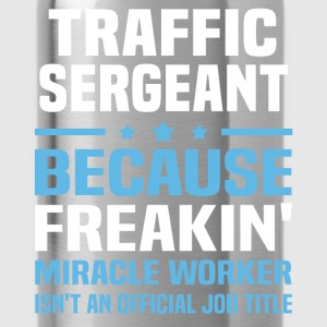 Traffic Sergeant T-Shirts - Water Bottle