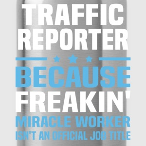 Traffic Reporter T-Shirts - Water Bottle