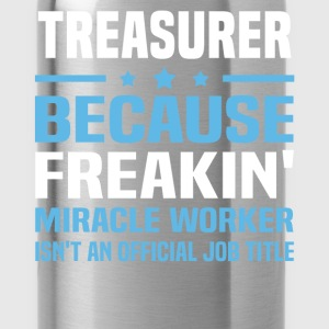 Treasurer T-Shirts - Water Bottle